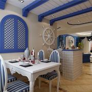 餐厅地中海装饰