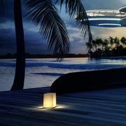 酒店夜晚景观