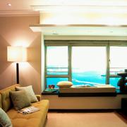 客厅飘窗景观欣赏