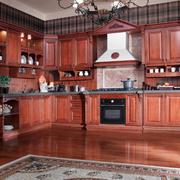 大气古典厨房橱柜