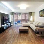 客厅现代简约装潢