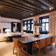 客厅实木吊顶欣赏
