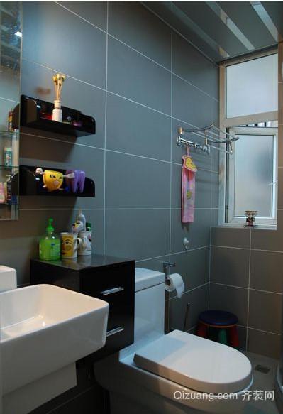 118平米经典小户型卫生间瓷砖效果图