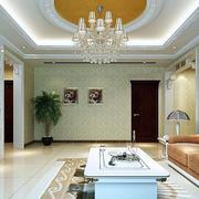 客厅水晶大吊灯