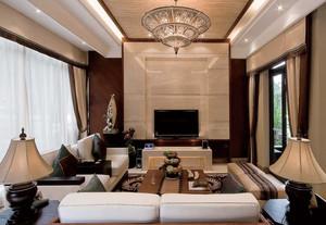 绚丽多姿的东南亚风格客厅设计装修效果图鉴赏