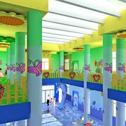 幼儿园彩色装潢