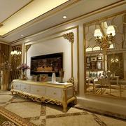 豪华的别墅客厅