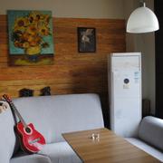 咖啡厅舒适卡做沙发
