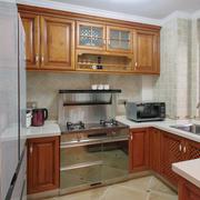 家居小型的厨房