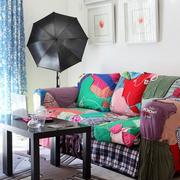 客厅彩色沙发欣赏