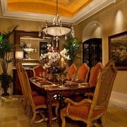 复古典雅的餐厅