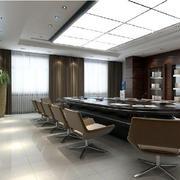 大户型会议室玻璃吊顶