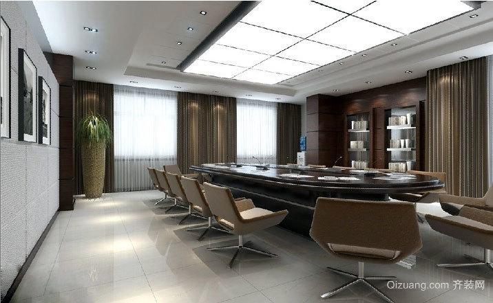 2015都市大型企业精装会议室装修效果图鉴赏