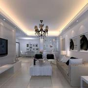 现代简约大客厅