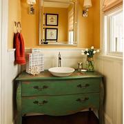 美式古典的卫生间