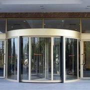 大户型酒店大厅旋转门