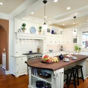 家居厨房吧台展示