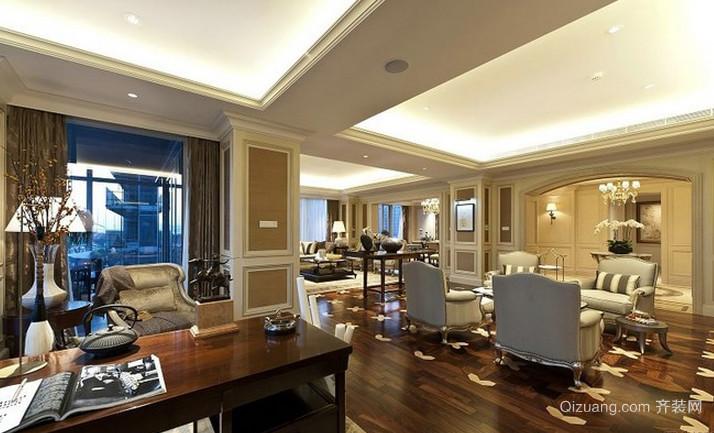 富有生活情趣的欧式古典风格客厅装修效果图