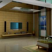 精巧电视背景墙
