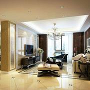 现代风格客厅电视墙