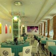 清新自然的饭店设计
