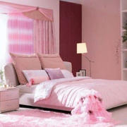 婚房粉色可爱卧室