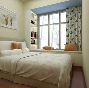 古典梦幻的客厅飘窗装修效果图