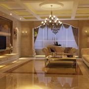 温馨客厅背景墙设计