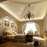 精致时尚的卧室