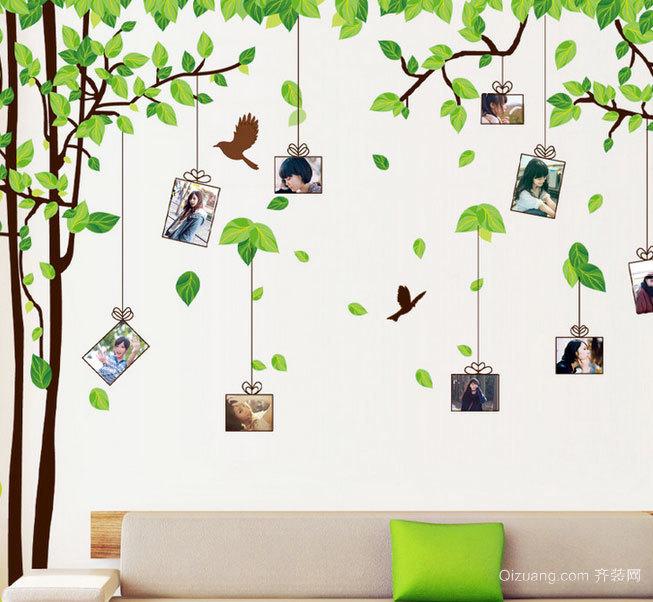 2015孩子们钟爱的幼儿园室内照片墙设计效果图鉴赏