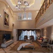 复式楼家居客厅设计