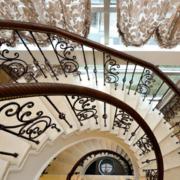 楼梯铁艺装饰欣赏