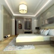 温暖舒适的公寓卧室