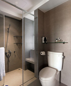 三居室宜家简欧风格卫生间门装修效果图鉴赏