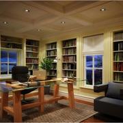 大户型的书房展示
