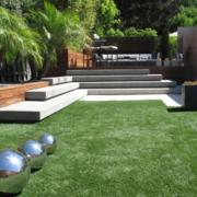 别墅草坪展示