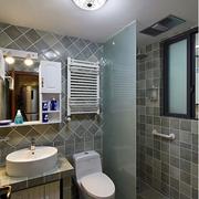 卫生间瓷砖贴墙展示