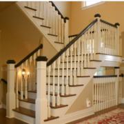 温馨现代化的楼梯