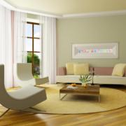 家居客厅沙发摆放