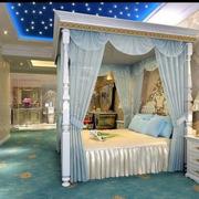 卧室迷人床幔展示