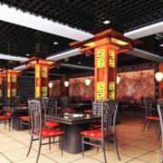 中式传统的火锅店