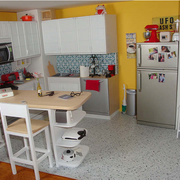 厨房吧台图片