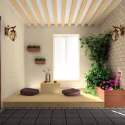 花园榻榻米沙发