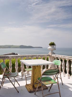 清净怡人的欧式欧式风格露台花园设计图片鉴赏