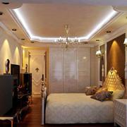 卧室精致的装潢