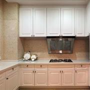 厨房优雅的厨柜
