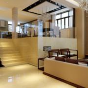三室两厅客厅楼梯设计