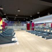 健身房防滑地板