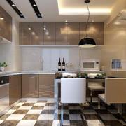 时尚现代化的厨房