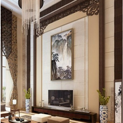 中式背景墙装潢欣赏